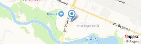 Умный малыш на карте Брянска