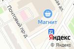 Схема проезда до компании Офелия в Петрозаводске