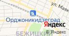 Бежицкая автостанция на карте