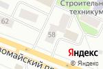 Схема проезда до компании Времена года в Петрозаводске
