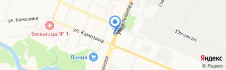 Колбасы Белоруссии на карте Брянска