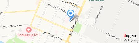 Аварийная служба на карте Брянска
