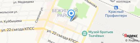 Холод-Сервис на карте Брянска