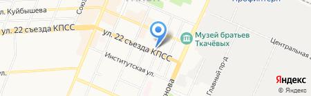 Стоматологическая клиника на Ростовской на карте Брянска