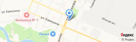Магазин замков на карте Брянска