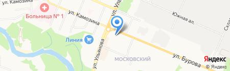 НХМ на карте Брянска