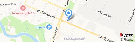 Интердетали.рф на карте Брянска