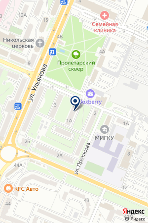 АКБ БЕЖИЦА-БАНК на карте Брянска