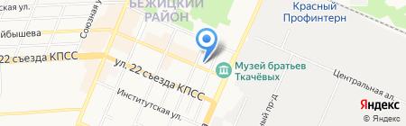 Сологранд на карте Брянска