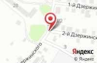 Схема проезда до компании ПромЭнергоСеть в Дзержинском