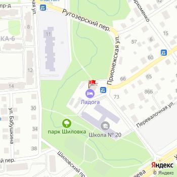 г. Петрозаводск, ул. Олонецкая,81 на карта