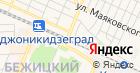 Продуктовый магазин на ул. Карла Либкнехта на карте