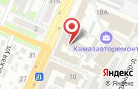 Схема проезда до компании Рекламно Информационная Компания в Брянске