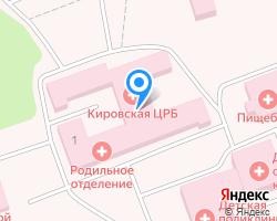 Схема местоположения почтового отделения 249448