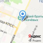 Автодоп на карте Брянска