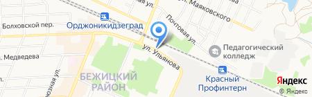 Потолок мастер на карте Брянска