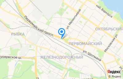 Местоположение на карте пункта техосмотра по адресу г Петрозаводск, р-н Первомайский, ул Шотмана, д 31, пом 1