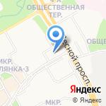 Технопроф на карте Петрозаводска