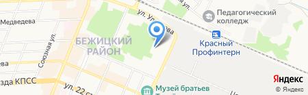 ГеоТехнология на карте Брянска