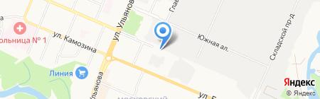Адвокатский кабинет Маймулина Д.А. на карте Брянска