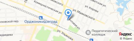 Детский сад №13 Малыш на карте Брянска