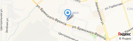 Студия красоты Арины Богатыревой на карте Брянска