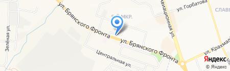 Беловежский гостинец на карте Брянска