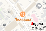 Схема проезда до компании Леопицца в Супонево