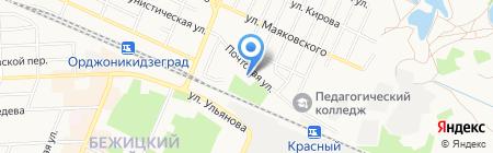 Детский сад №56 на карте Брянска