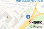 Схема проезда до компании Qiwi в Супонево
