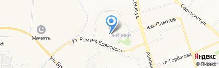 ТоЛК на карте Брянска