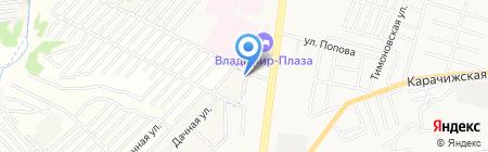 Мегаполис на карте Брянска