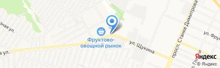 Терминал на карте Брянска