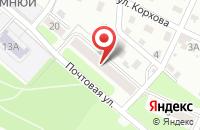 Схема проезда до компании Принт Сервис в Брянске