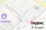 Схема проезда до компании Автогараж в Супонево
