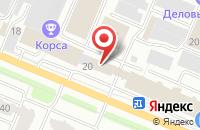 Схема проезда до компании Окна Сити в Брянске