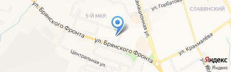 Содружество специалистов сантехников на карте Брянска