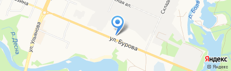 Деловые Линии на карте Брянска