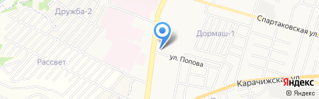Центр подготовки и повышения квалификации работников ТЭК России на карте Брянска