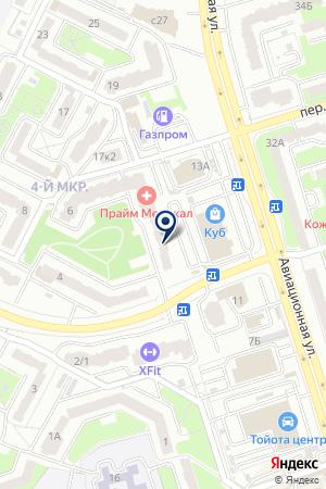 HOME АВТО на карте Брянска