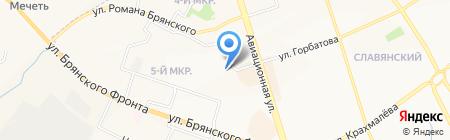 пив RIGHT бар на карте Брянска