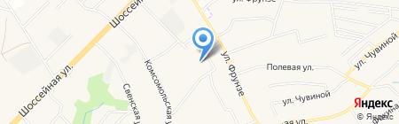 Бриг на карте Супонево