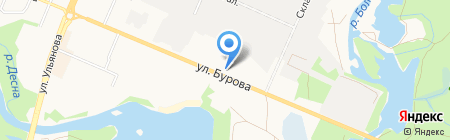 Русский комфорт на карте Брянска