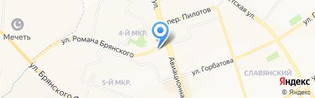 Ателье по пошиву и ремонту одежды на карте Брянска
