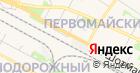 Продуктовый магазин на ул. Шотмана на карте