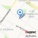 Камтеко на карте Петрозаводска