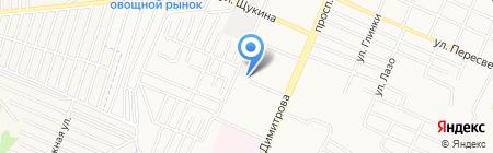 Ковка-Брянск на карте Брянска