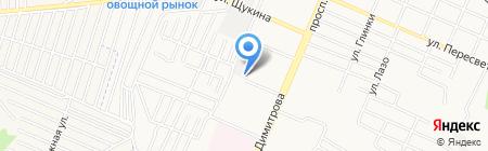 Бастион на карте Брянска