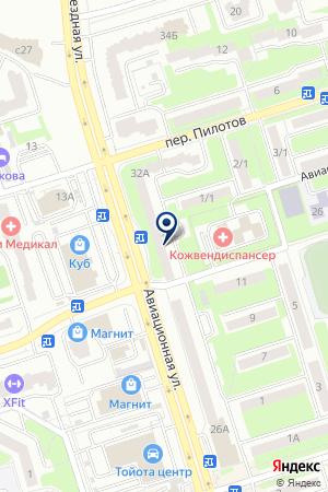 ДОПОЛНИТЕЛЬНЫЙ ОФИС № 0046 БРЯНСКОЕ ОТДЕЛЕНИЕ № 8605 СБЕРБАНК РОССИИ на карте Брянска