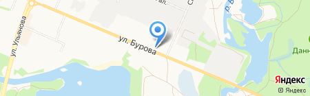 Меноком на карте Брянска
